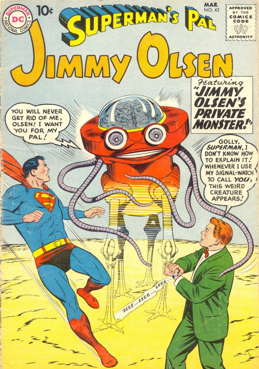Supermans Pal Jimmy Olsen (1954) 43 Page 1