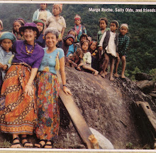 Sally & friends in Nepal