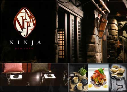 Imperdivel em nova york: restaurante Ninja New York