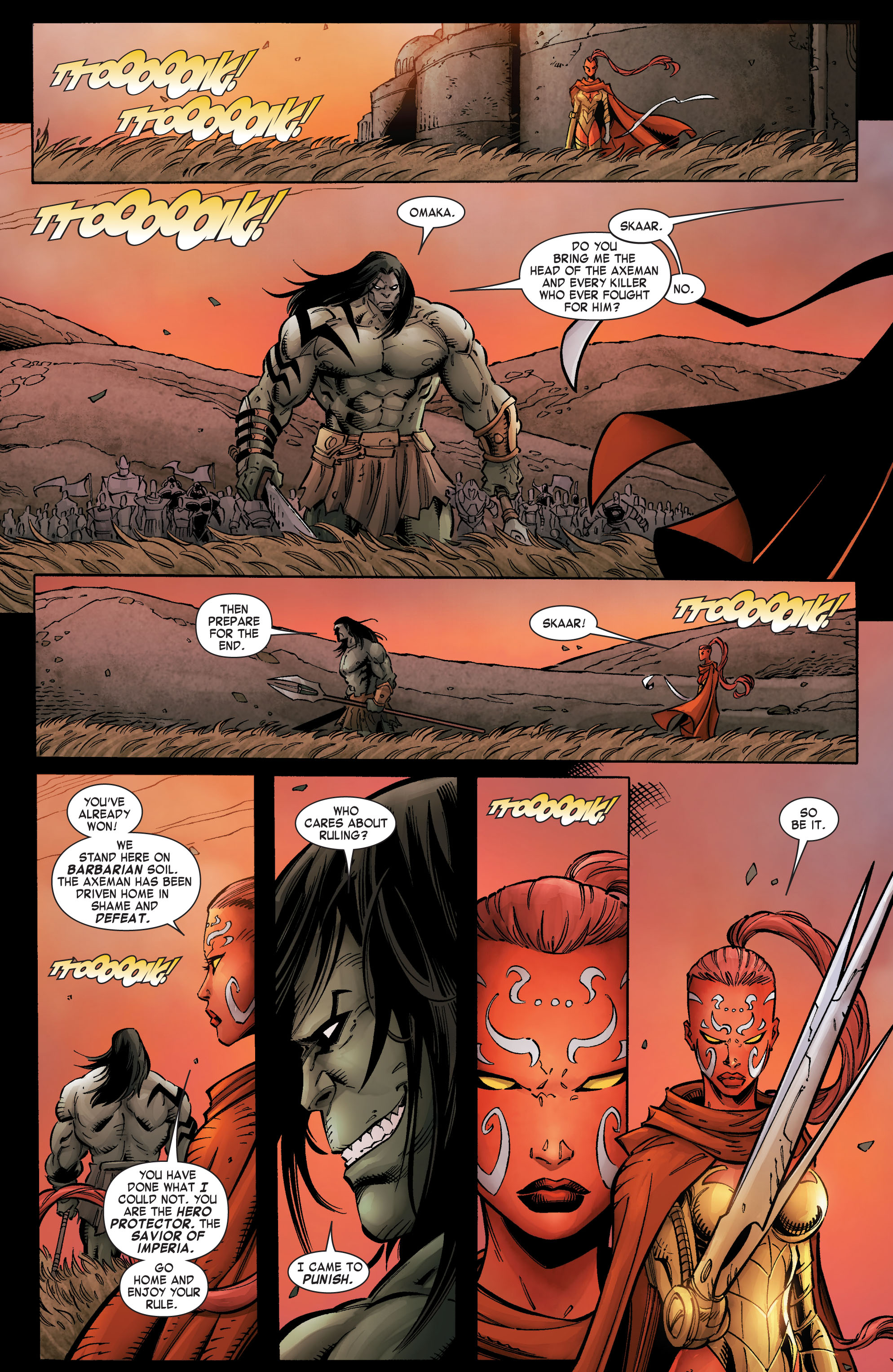 Read online Skaar: Son of Hulk comic -  Issue #8 - 15