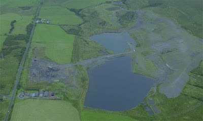 Keekle Head, a 70 hectare former opencast coal mine near Whitehaven, Cumbria, which Endecom, a company owned by SITA UK, has bought to use for the disposal of low and very low level radioactive construction and demolition waste.