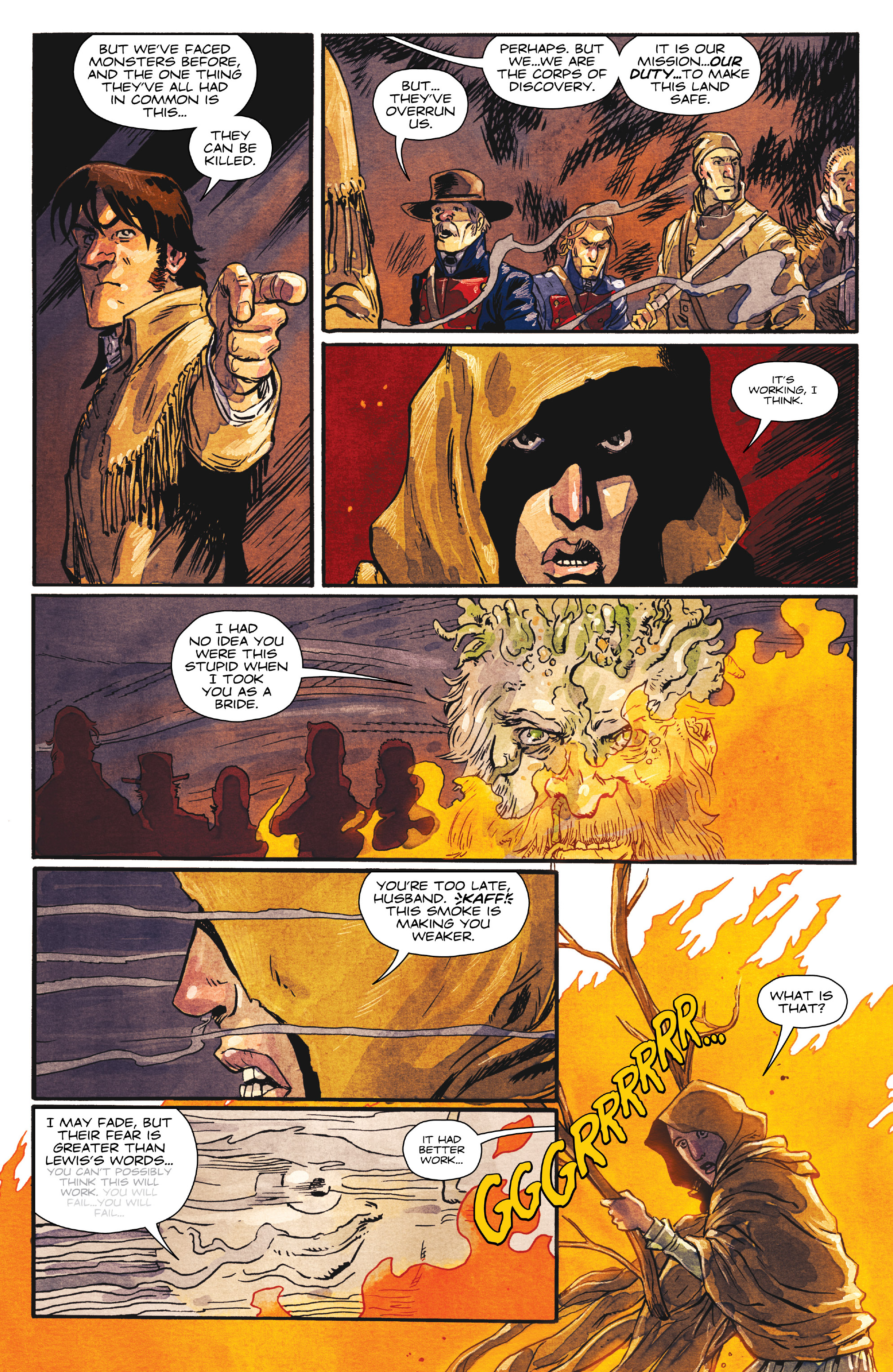 Read online Manifest Destiny comic -  Issue #29 - 5