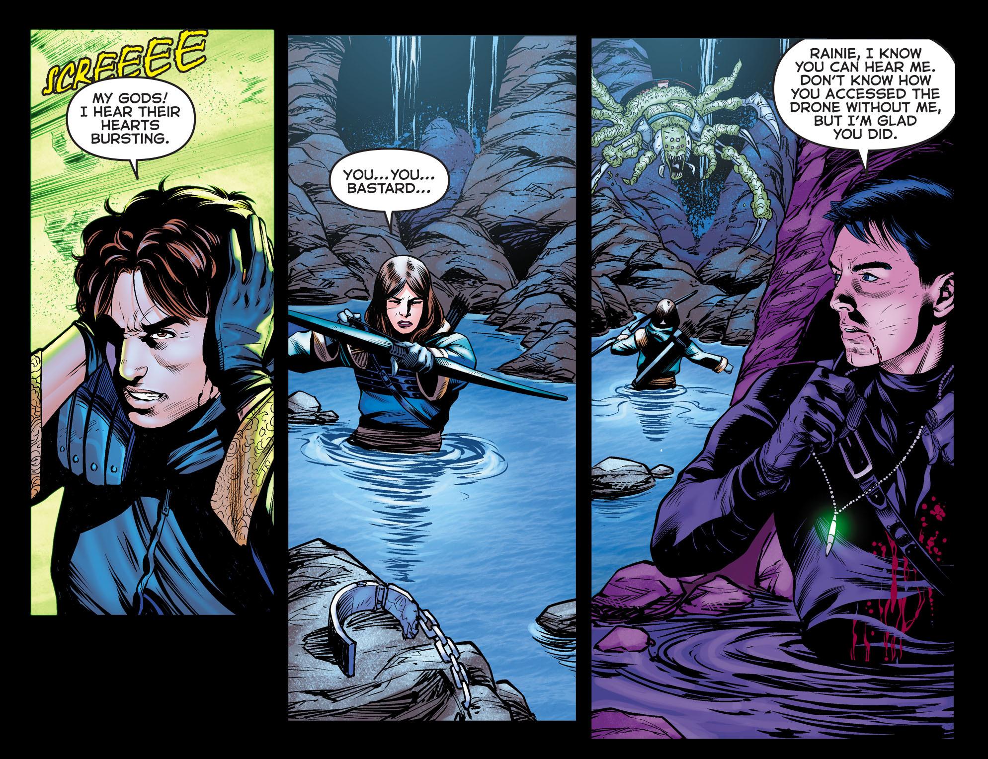 Read online Arrow: The Dark Archer comic -  Issue #10 - 7