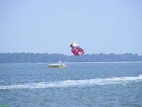 Harbour Town Marina parasailing