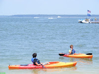 Harbour Town Marina kayaking