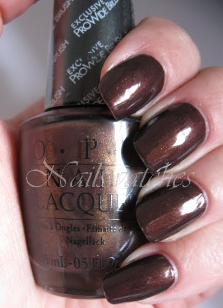 Nailswatches Opi Espresso Your Style