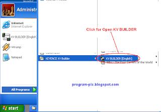 Download Program to PLC Keyence