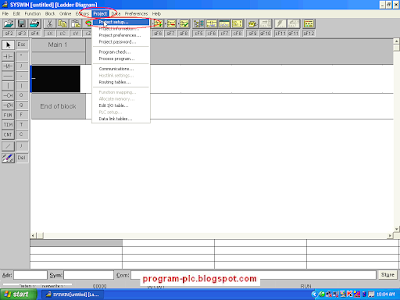 Project Setup in SYSWIN Software