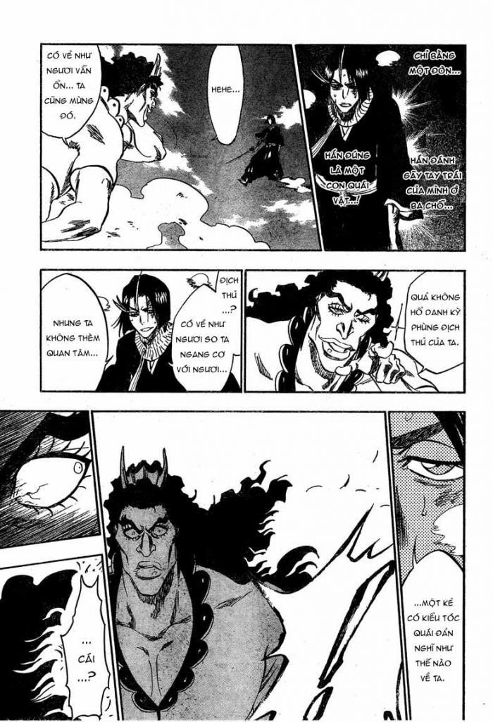 Bleach chapter 320 trang 17