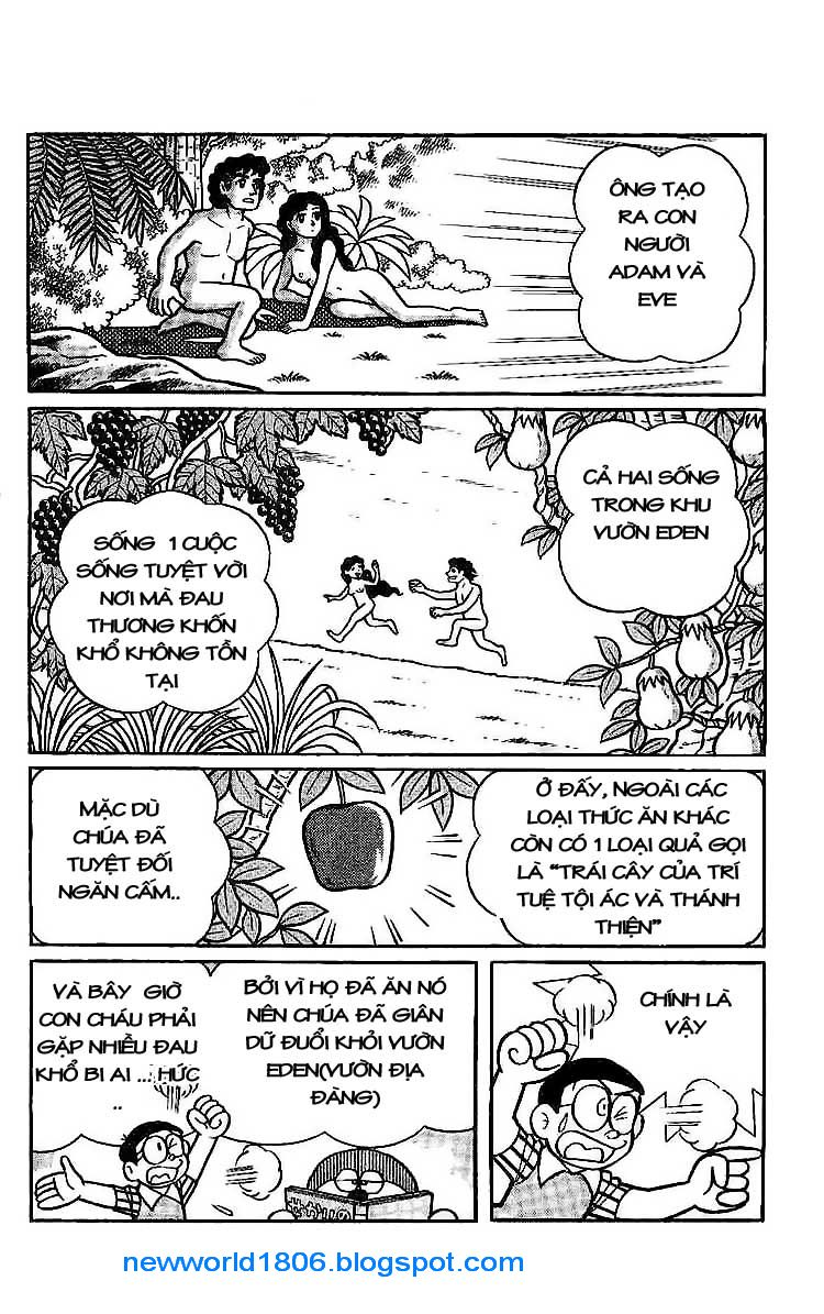 Daichouhen Doraemon chap 15 - Trang 4