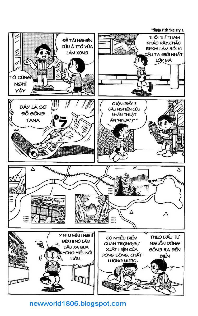 Daichouhen Doraemon chap 15 - Trang 6
