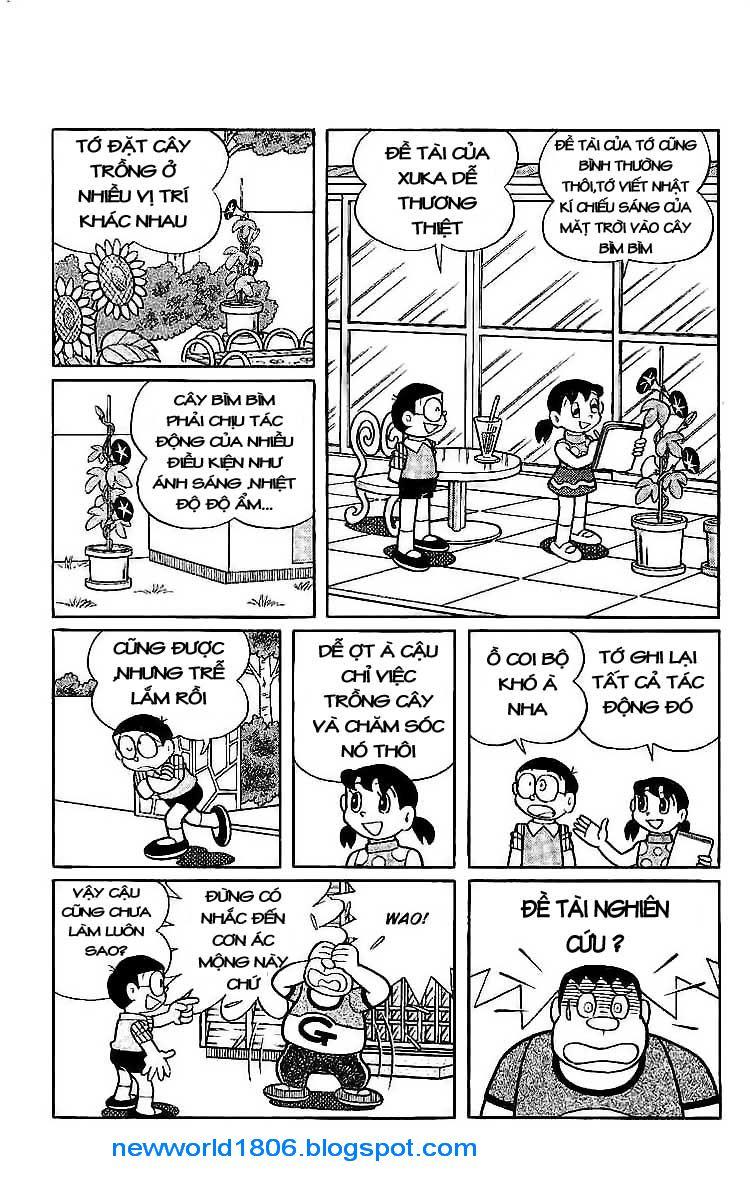 Daichouhen Doraemon chap 15 - Trang 7