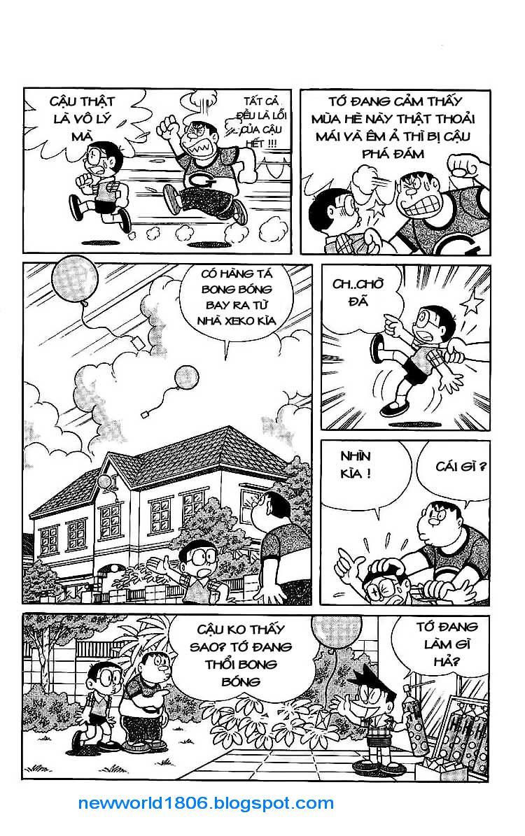Daichouhen Doraemon chap 15 - Trang 8