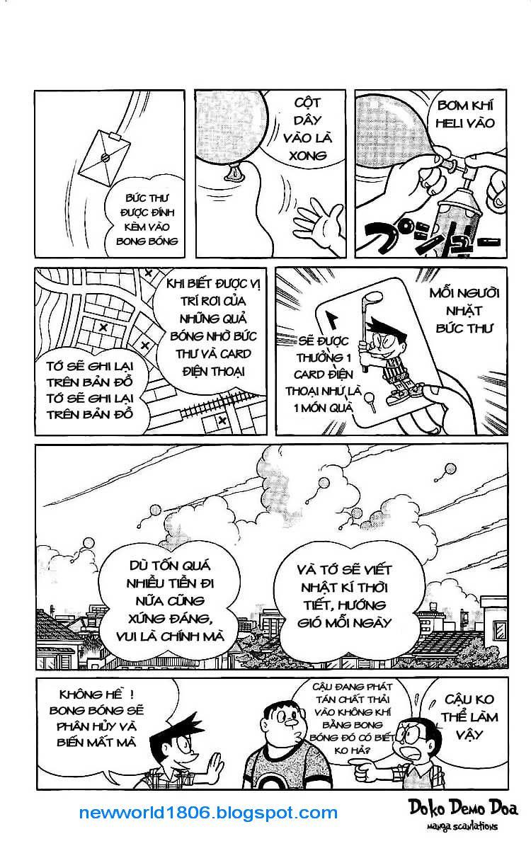 Daichouhen Doraemon chap 15 - Trang 9