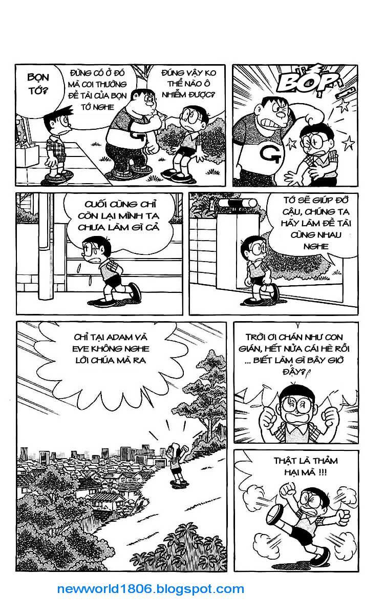 Daichouhen Doraemon chap 15 - Trang 10