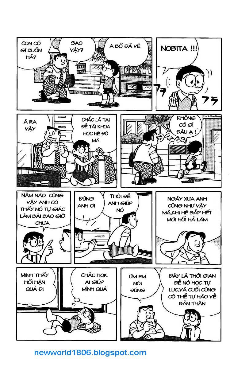 Daichouhen Doraemon chap 15 - Trang 11