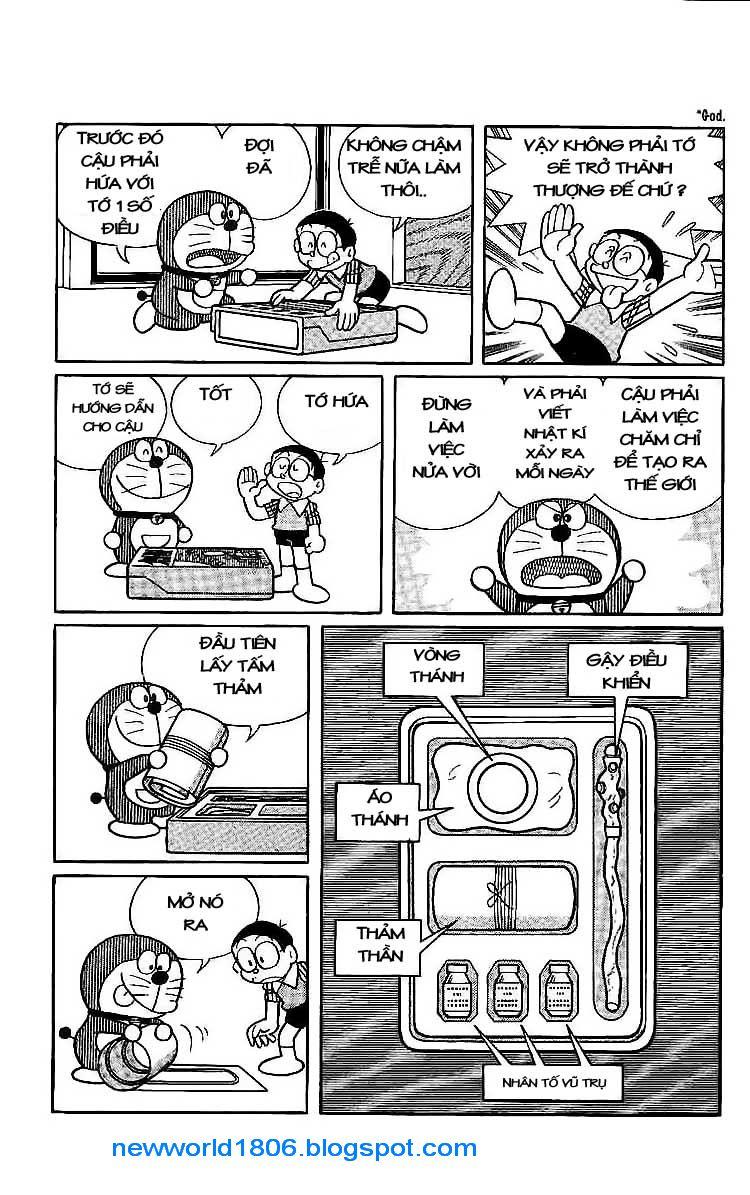 Daichouhen Doraemon chap 15 - Trang 17