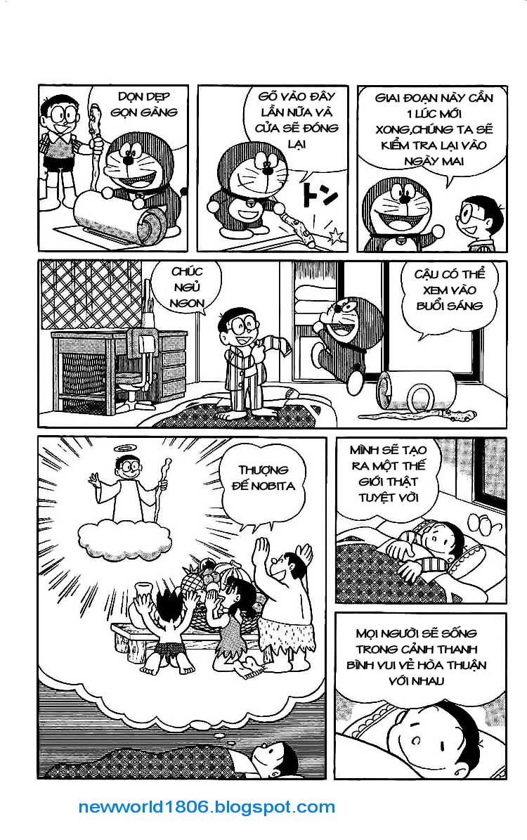 Daichouhen Doraemon chap 15 - Trang 21