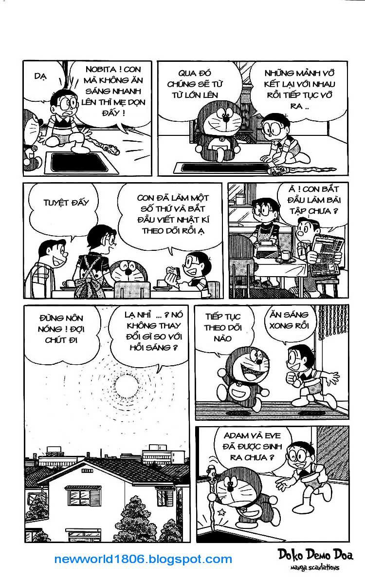 Daichouhen Doraemon chap 15 - Trang 23