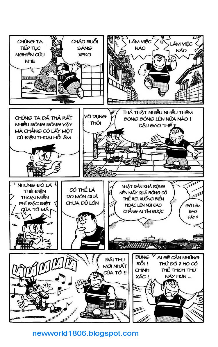 Daichouhen Doraemon chap 15 - Trang 24