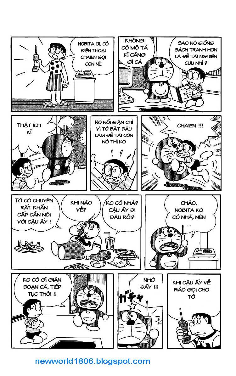 Daichouhen Doraemon chap 15 - Trang 36