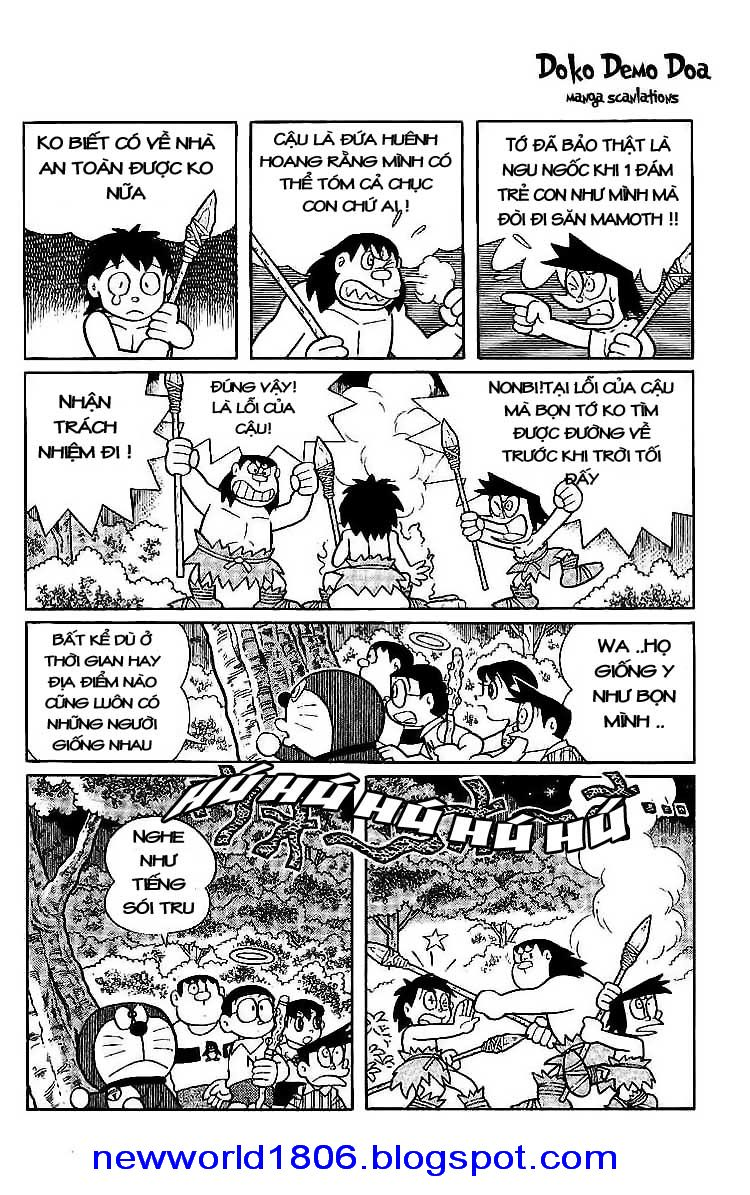 Daichouhen Doraemon chap 15 - Trang 60