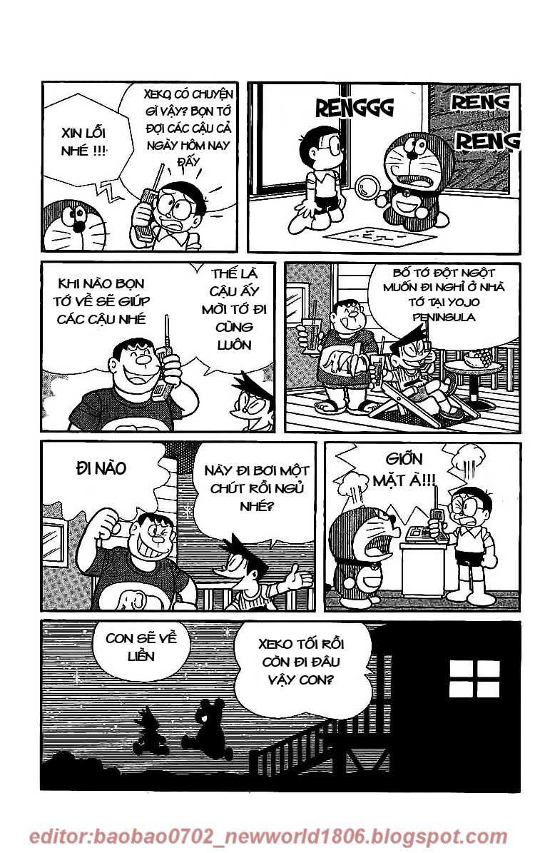 Daichouhen Doraemon chap 15 - Trang 107