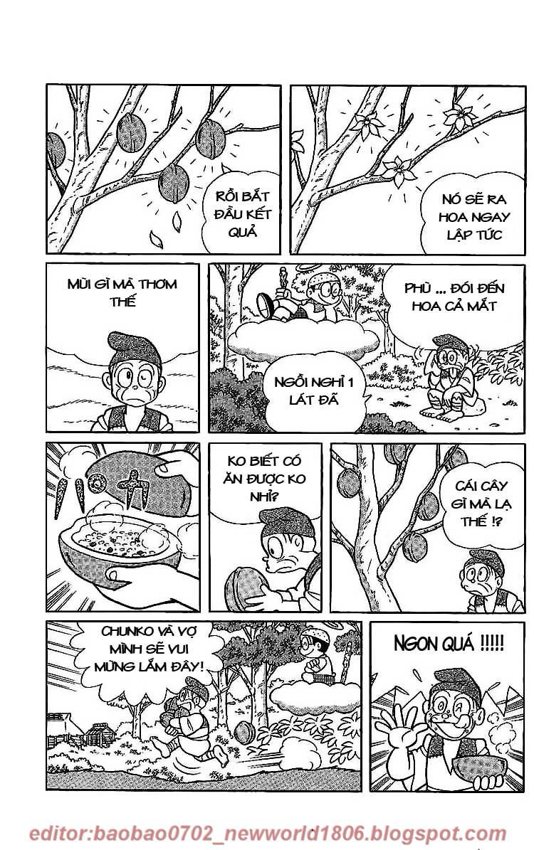 Daichouhen Doraemon chap 15 - Trang 123