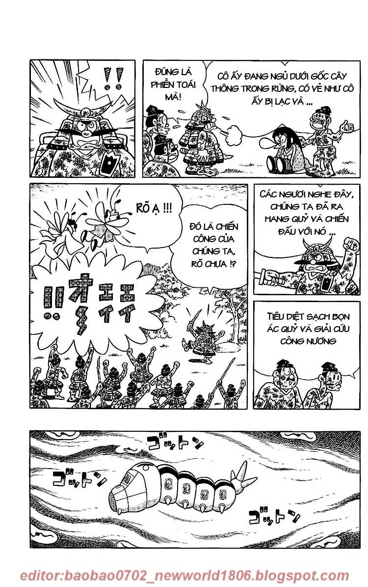 Daichouhen Doraemon chap 15 - Trang 141
