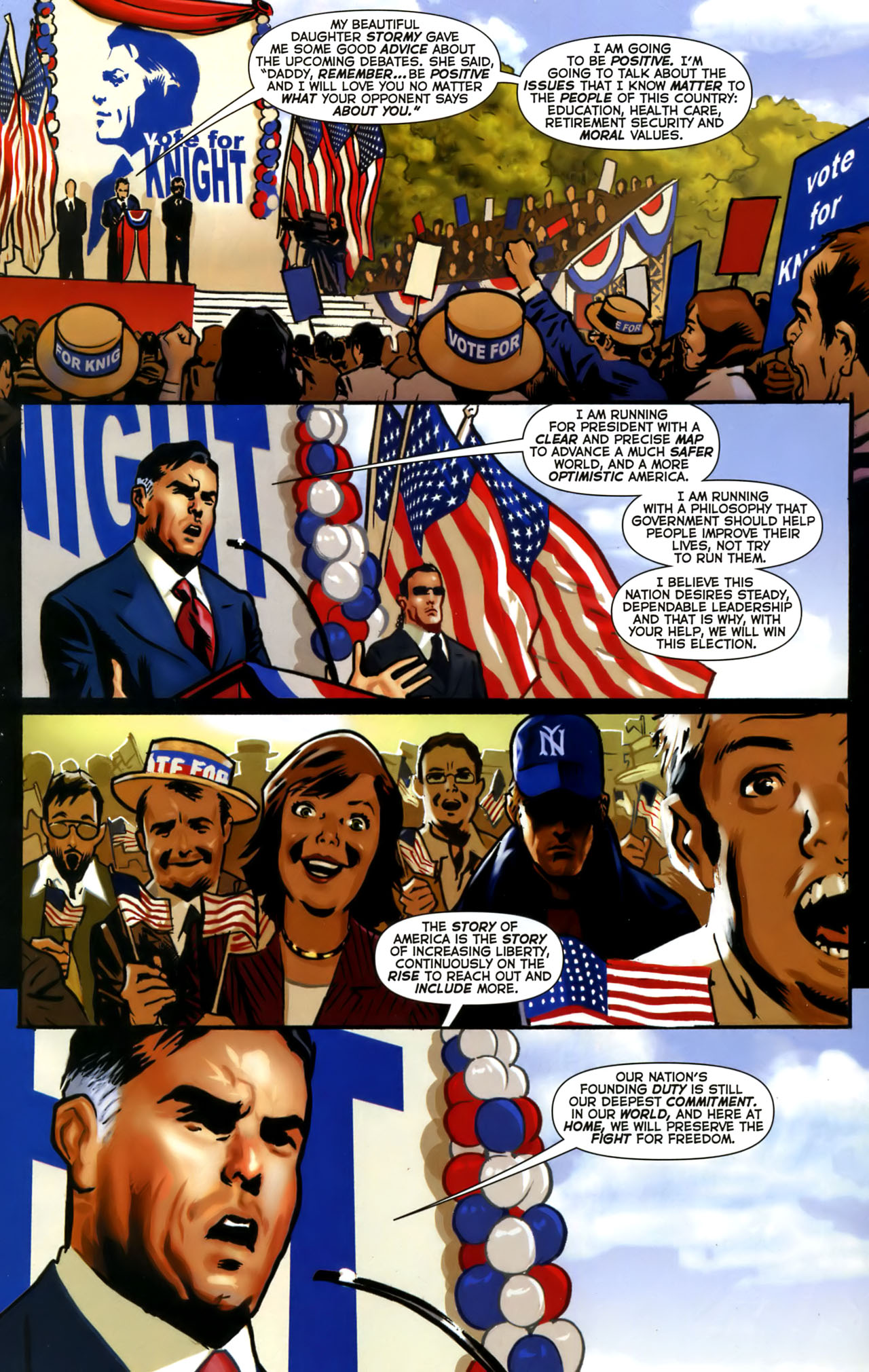 Read online Uncle Sam and the Freedom Fighters (2006) comic -  Issue #1 - 2