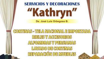 Servicios y decoraciones Kathryn