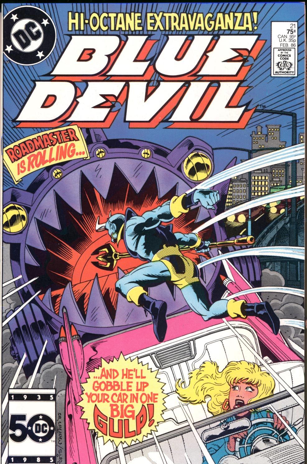 Blue Devil 21 Page 1