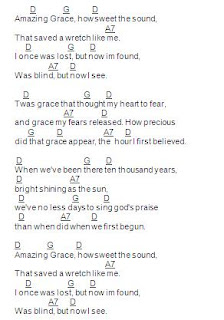 This is Our Vision: Be Thou My Vision: Amazing Grace Chords