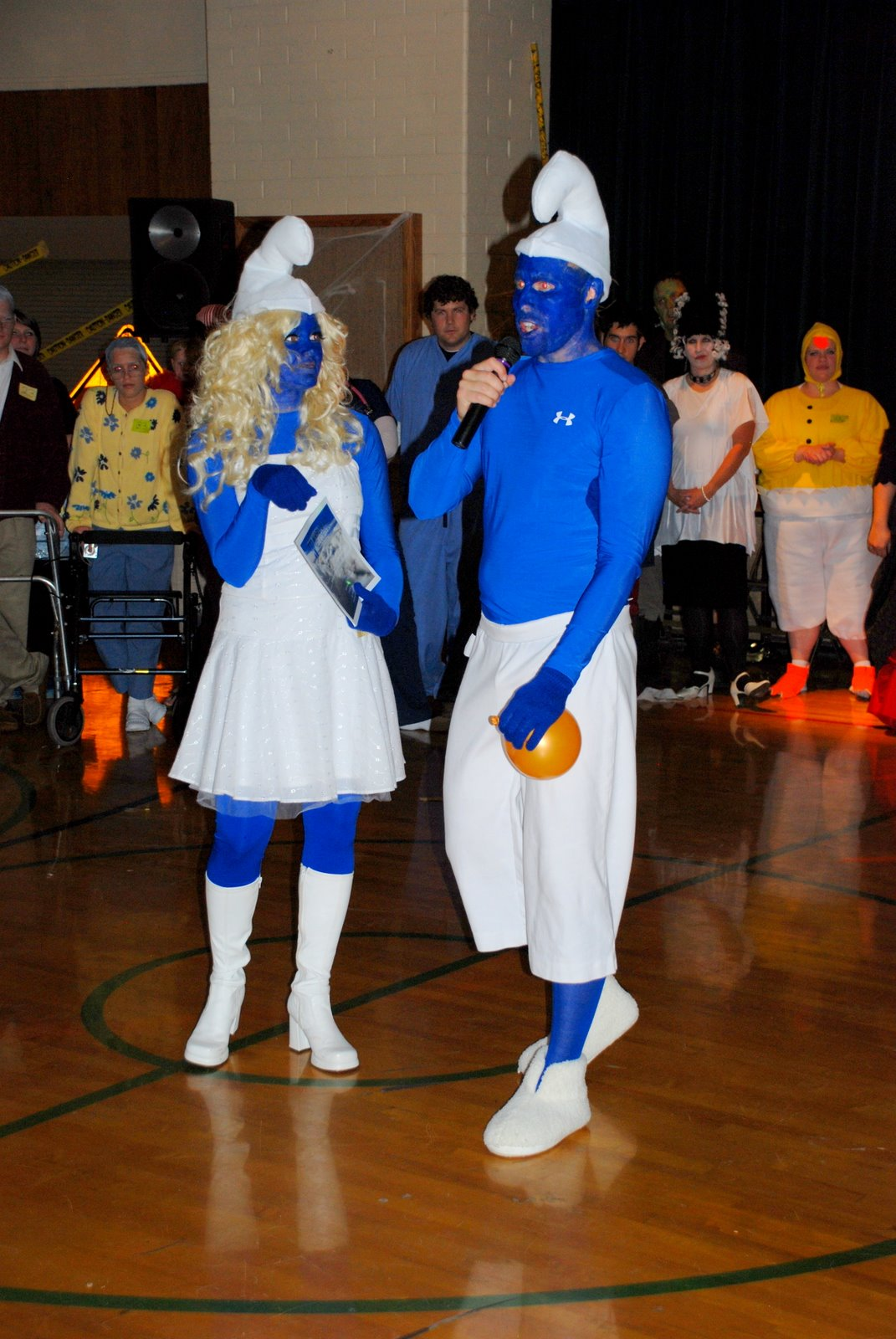 Dodgeball Movie Costumes The Geddes Clan: Happy...