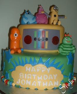 Cakes By Styles Yo Gabba Gabba 1st Birthday Cake For A Boy