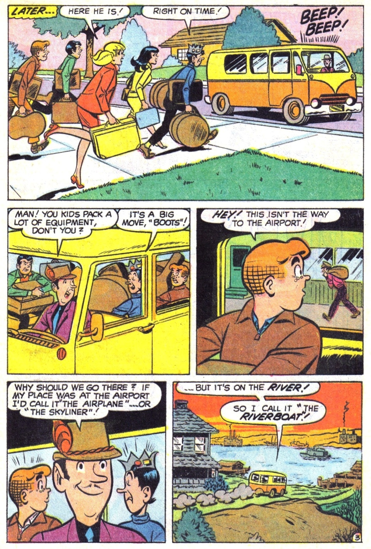 Read online Archie (1960) comic -  Issue #191 - 5