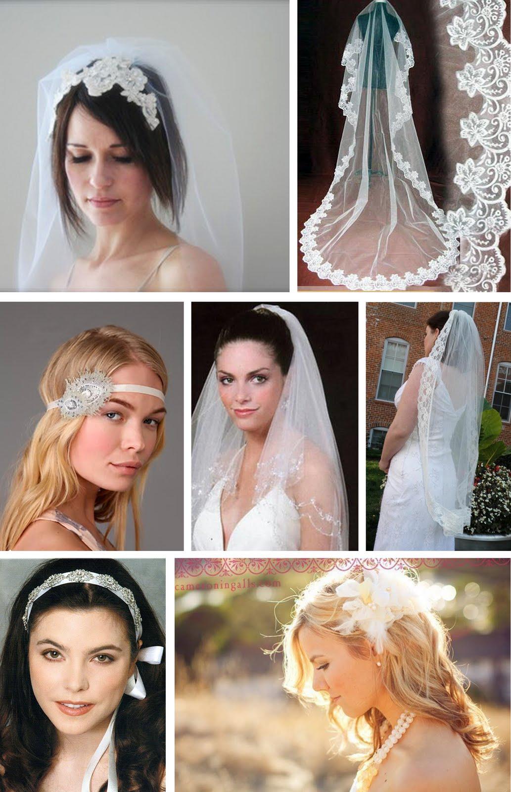 the artful bride wedding blog: wedding veils & hair accessories