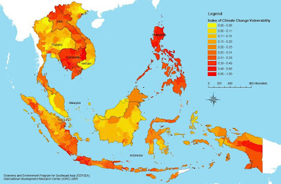 Map Of Southeast Asia Climate