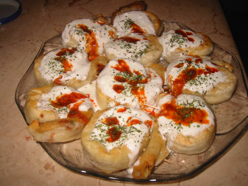 Gül Böreği(Sosyete Mantısı)