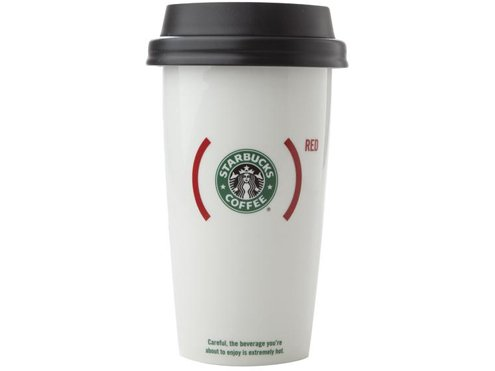 Coffee Mugs Starbucks Red To Go Mug
