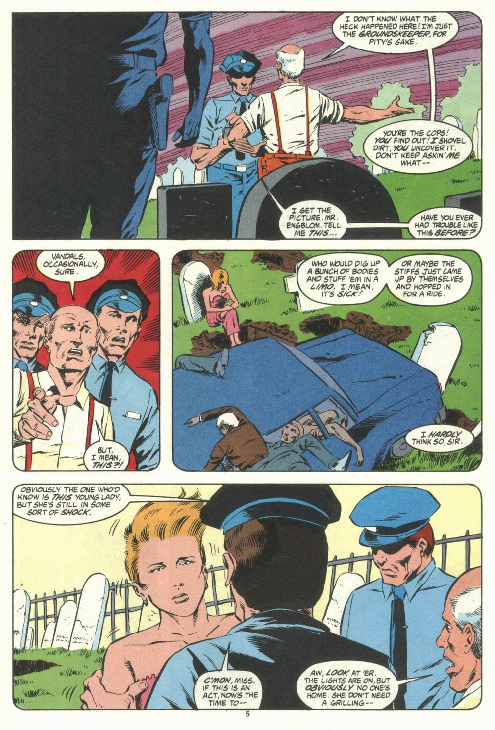 Read online Justice (1986) comic -  Issue #28 - 7