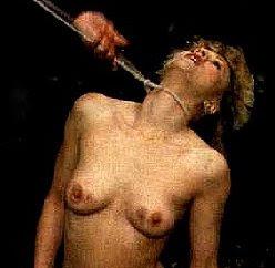 Has erotic death by stranglation