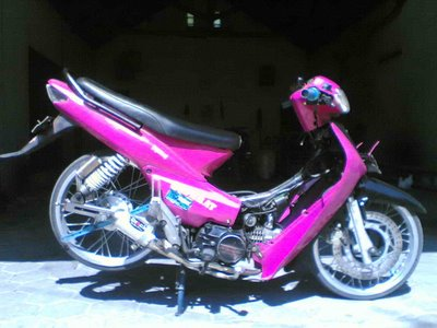 Top modifikasi motor supra fit 2005