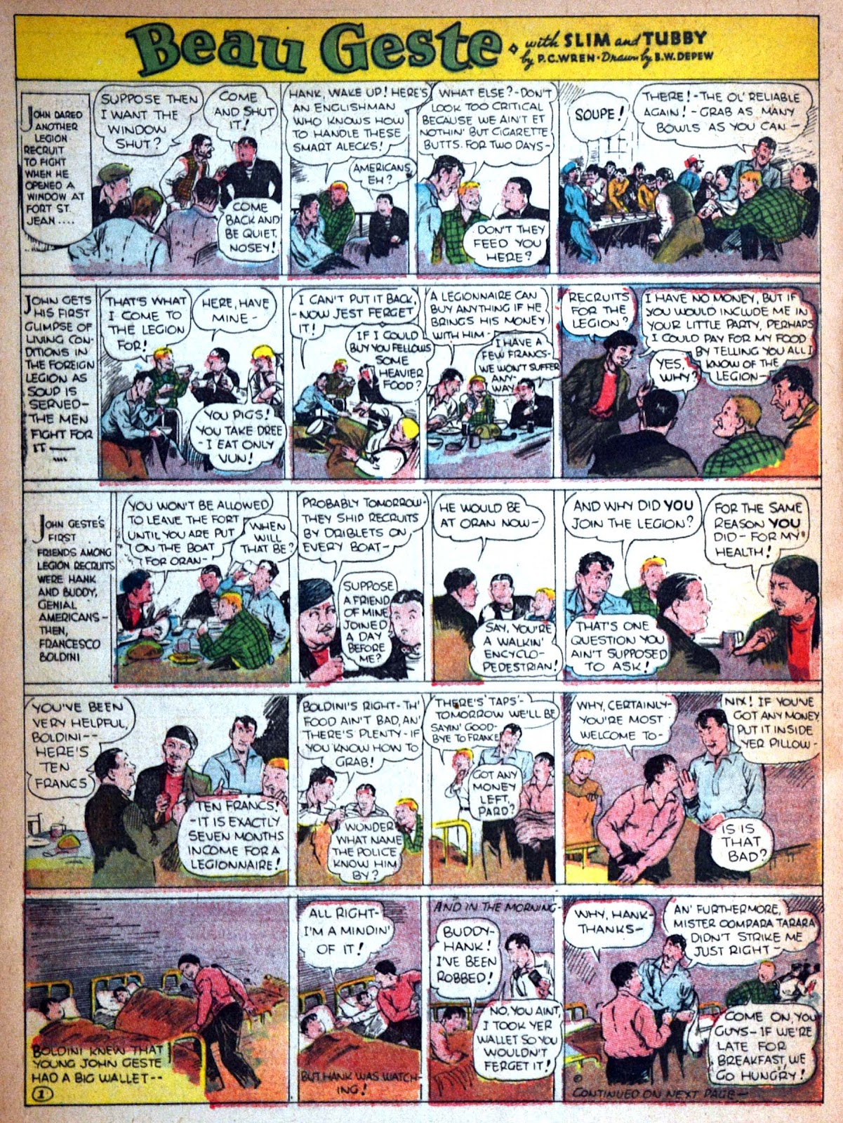 Read online Famous Funnies comic -  Issue #29 - 45