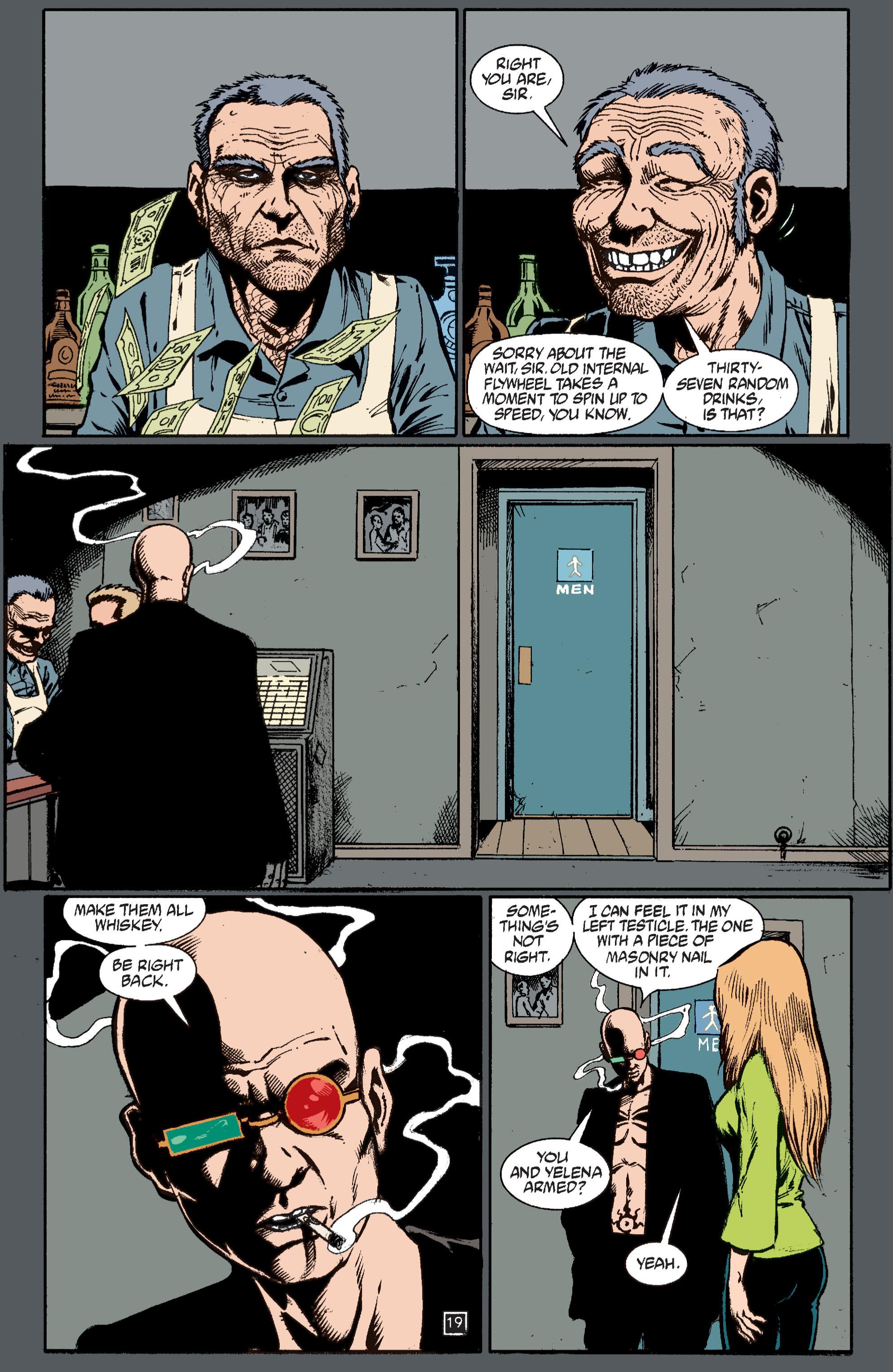 Read online Transmetropolitan comic -  Issue #37 - 20