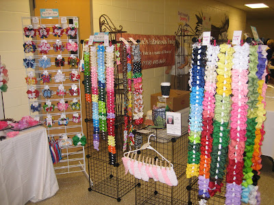 Hair Candy Bows Craft Show