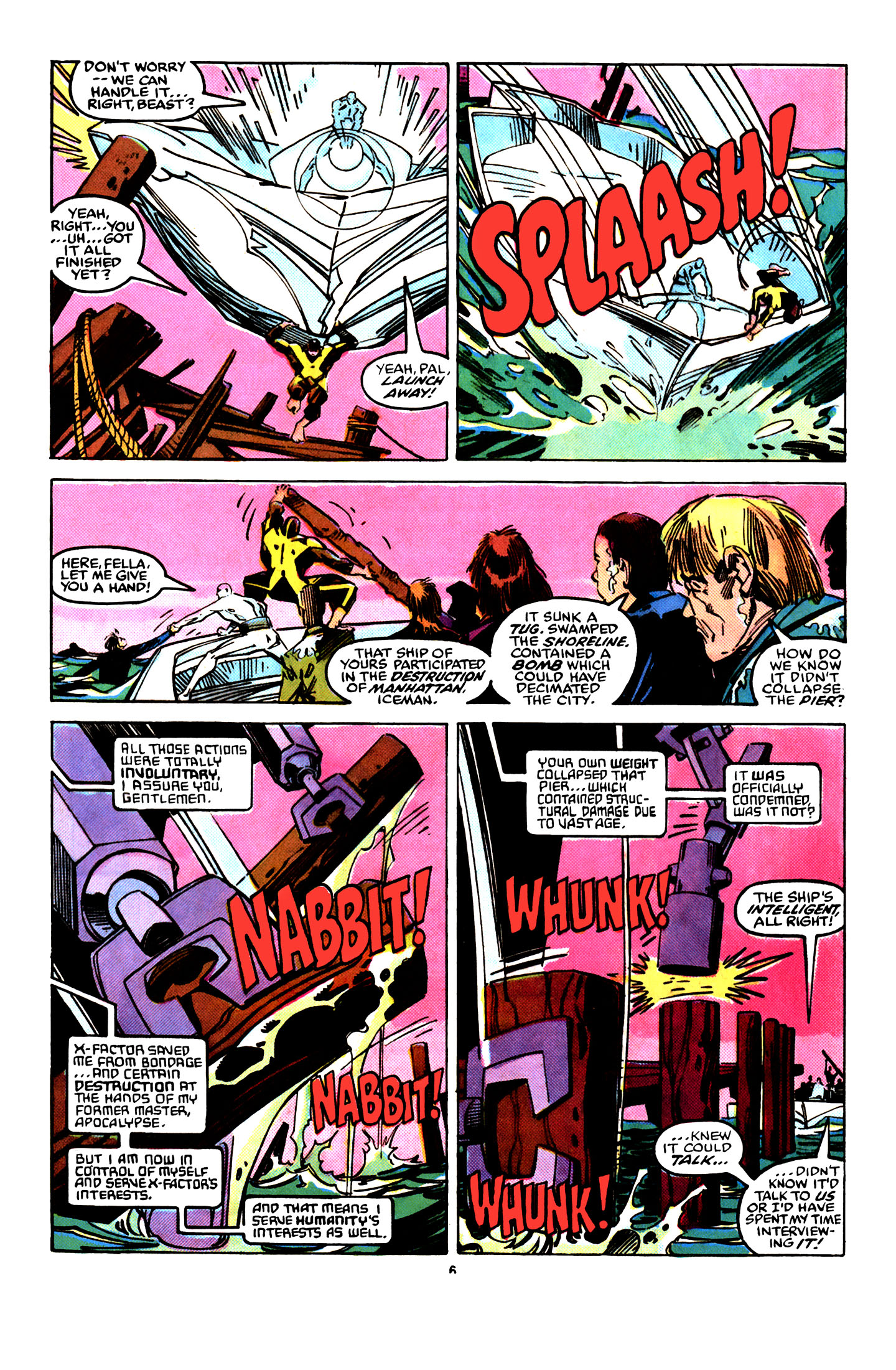 Read online X-Factor (1986) comic -  Issue #29 - 6