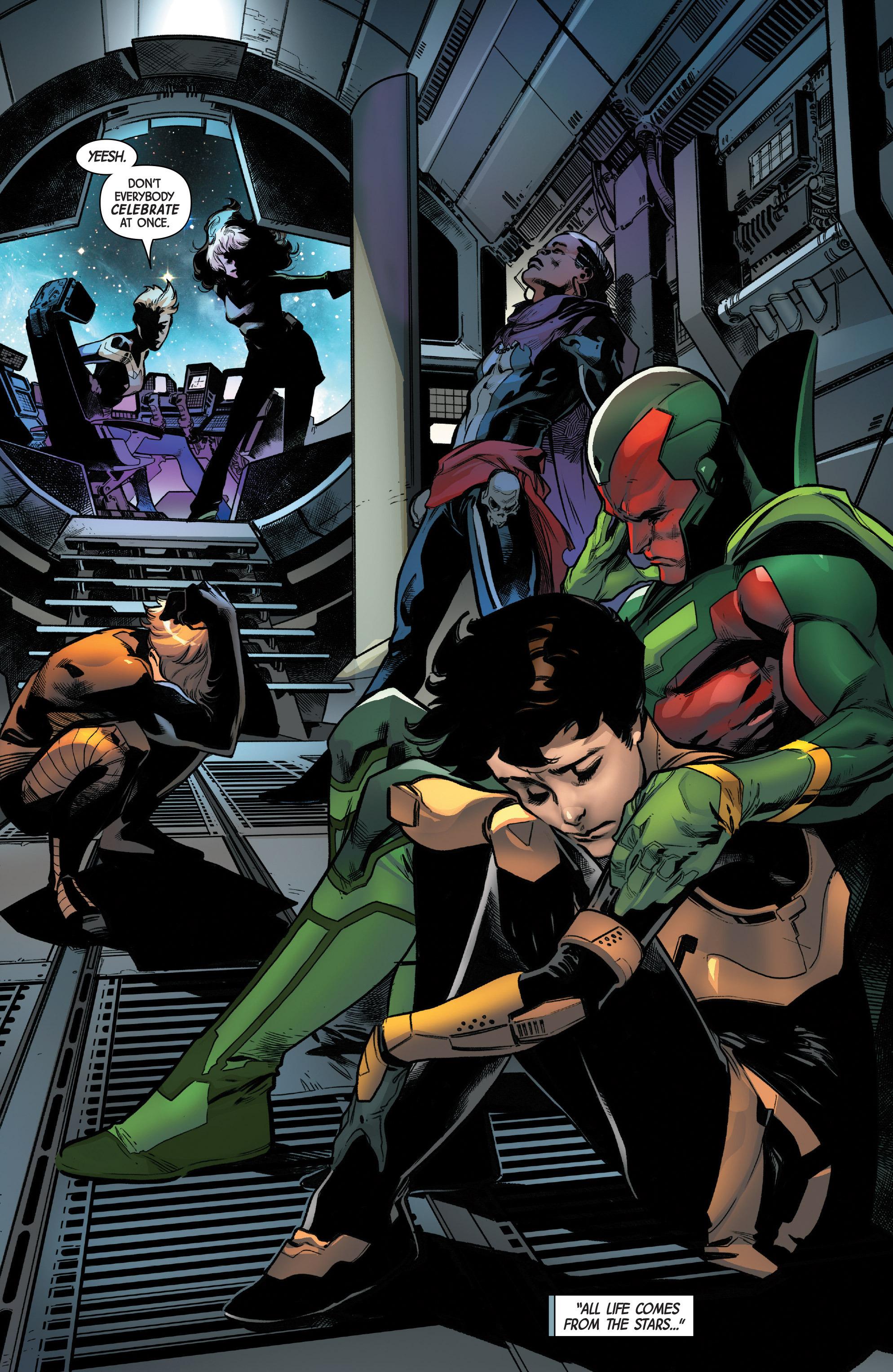 Read online Uncanny Avengers [II] comic -  Issue #12 - 19