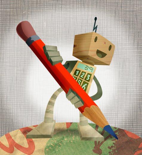 Homework helper robot
