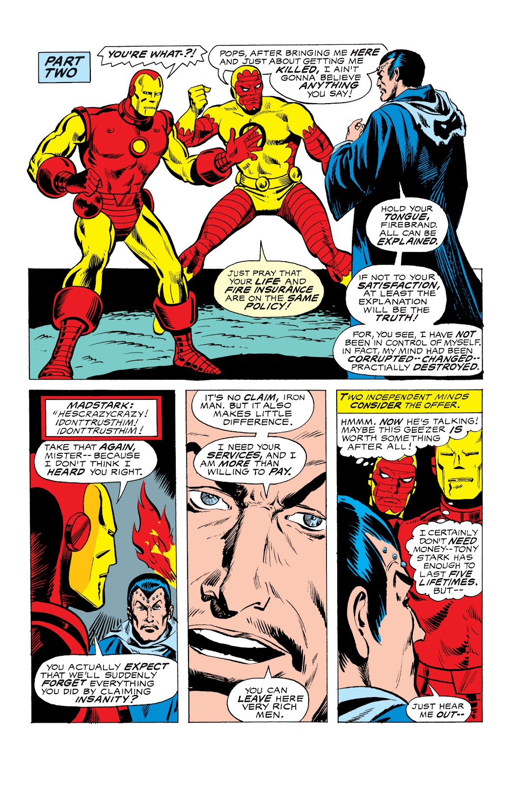 Read online Marvel Masterworks: The Invincible Iron Man comic -  Issue # TPB 10 (Part 3) - 23